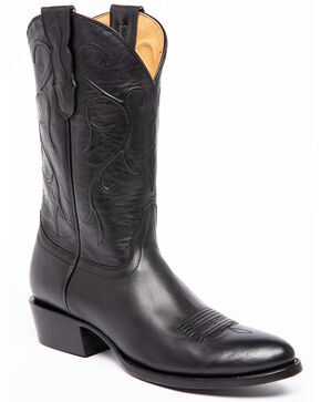 Cody James Men's Maresias Negro Western Boots - Round Toe, Black, hi-res
