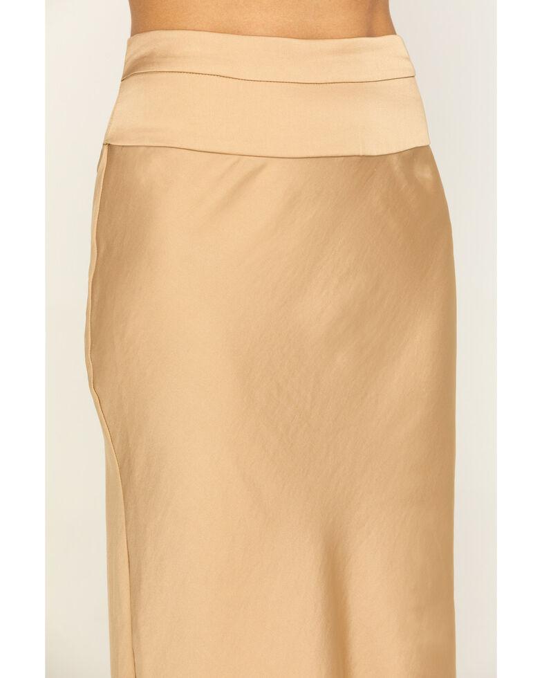 Free People Women's Normani Bias Skirt  , Gold, hi-res