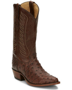 Tony Lama Men's McCandles Western Boots - Round Toe, Brown, hi-res