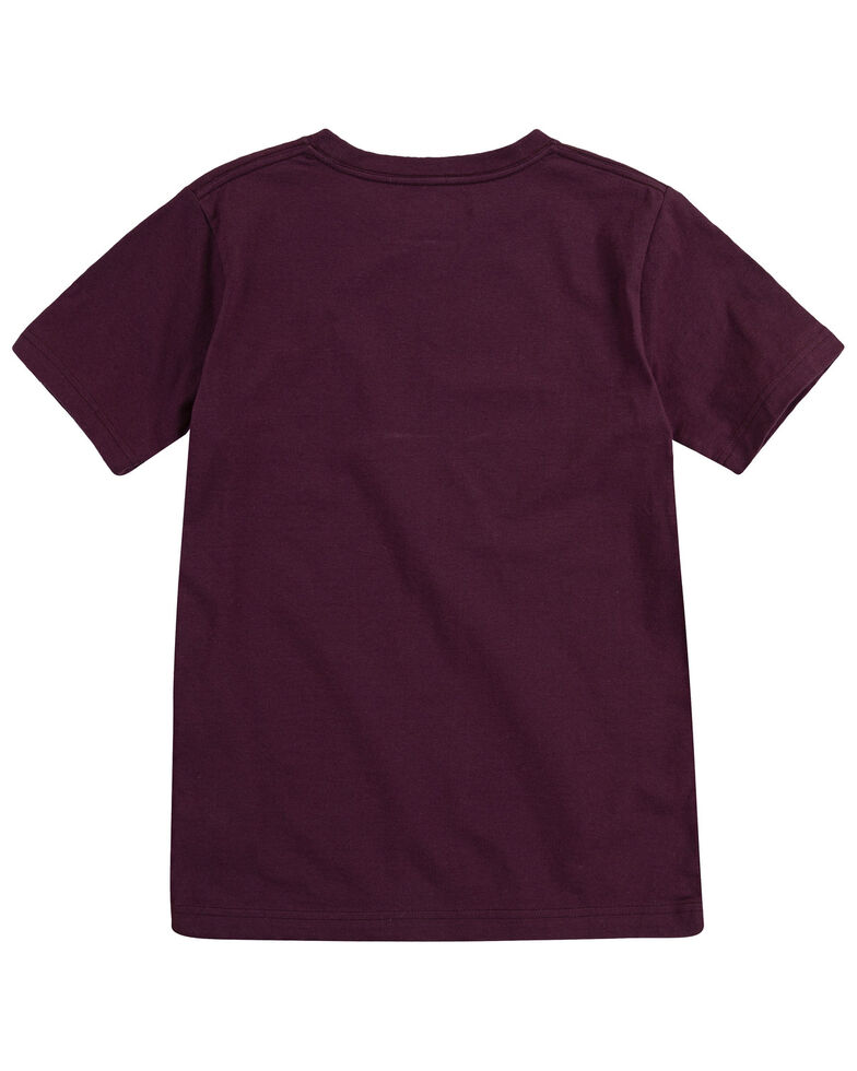 f5edb37a Zoomed Image Levi's Boys' Flying Solo Graphic Short Sleeve T-Shirt ,  Maroon, hi-
