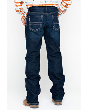 Cinch Men's Grant Relaxed Fit Boot Cut Jeans, Indigo, hi-res