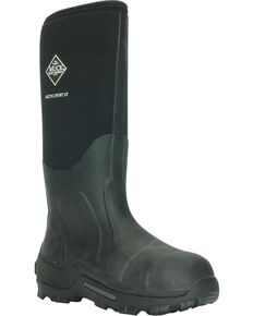 The Original Muck Boot Men's Arctic Sport Steel Toe Work Boots, Black, hi-res