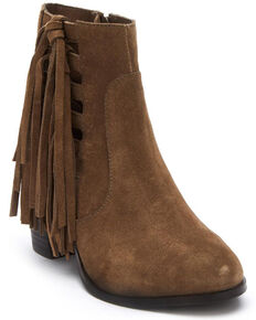 Matisse Women's Olive Stroll Through Fashion Booties - Round Toe, Olive, hi-res
