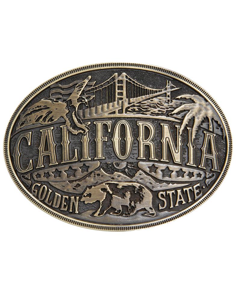 Cody James Men's California American Heritage Buckle, Bronze, hi-res