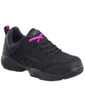 Nautilus Women's Lightweight Athletic Work Shoes - Composite Toe, Black, hi-res
