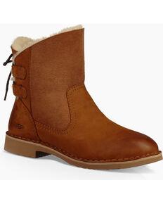 UGG® Womens Naiyah Classic Short Boots, Chestnut, hi-res