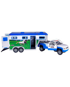 Breyer Stablemates Truck & Gooseneck Trailer, No Color, hi-res