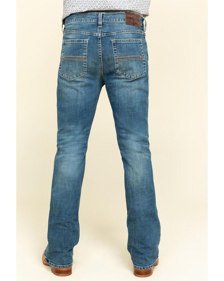 Cody James Men's Hawken Stretch Slim Bootcut Jeans , Blue, hi-res