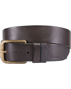 Browning Men's Dark Brown Milo Leather Belt , Dark Brown, hi-res