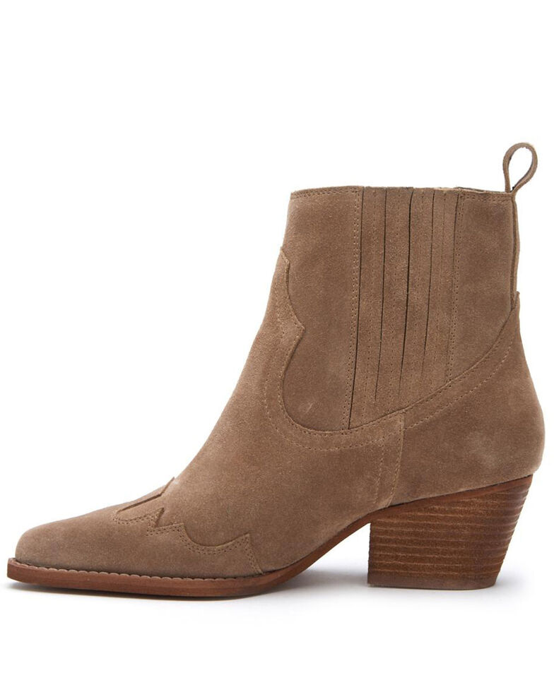 Matisse Women's Avery Fashion Booties - Snip Toe, Taupe, hi-res