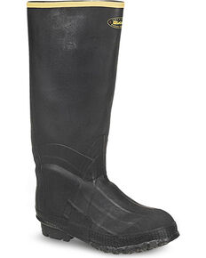 LaCrosse Men's ZXT Knee Work Boots, Black, hi-res