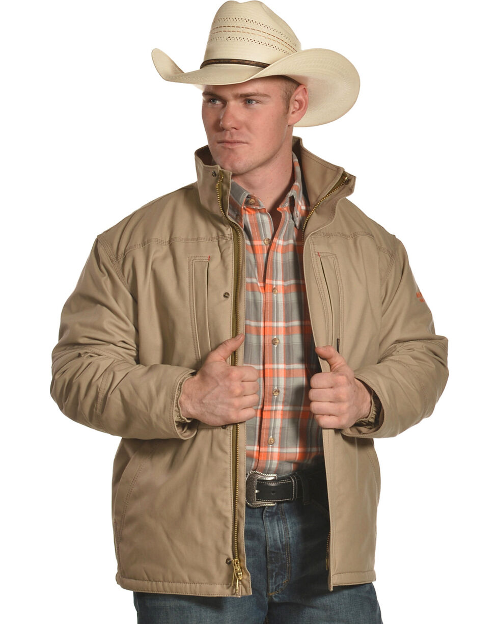 Ariat Men's Workhorse Jacket, Beige/khaki, hi-res