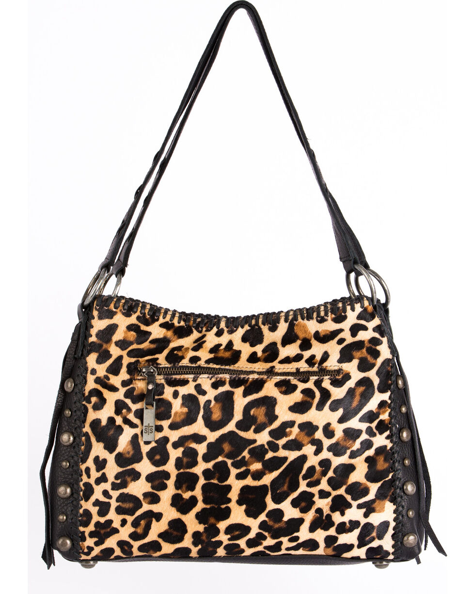 STS Ranchwear Leopard Print Maggie Mae Handbag , Leopard, hi-res