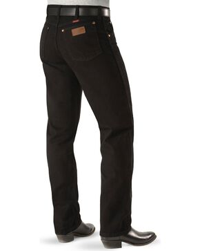 Wrangler Men's Cowboy Cut Original Fit Jeans, Shadow Black, hi-res
