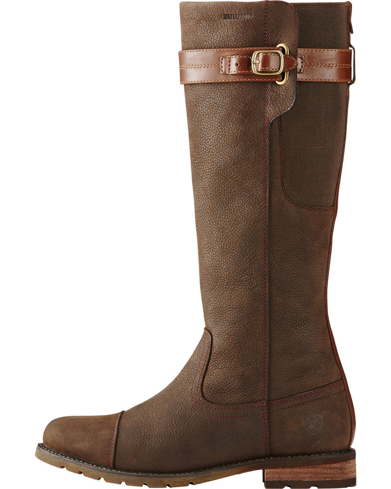 Ariat Women's Java Stoneleigh H2O English Boots, Brown, hi-res
