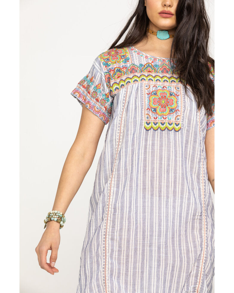Johnny Was Women's Tamia Peasant Tunic Dress, Multi, hi-res