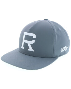 HOOey Men's Richie Champ Grey Trucker Cap, Grey, hi-res
