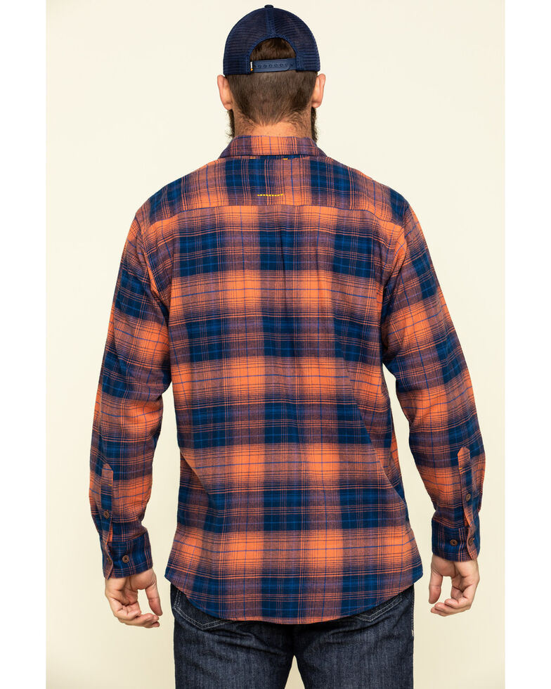 Ariat Men's San Juan Rebar Flannel Durastretch Long Sleeve Work Shirt - Big, Multi, hi-res