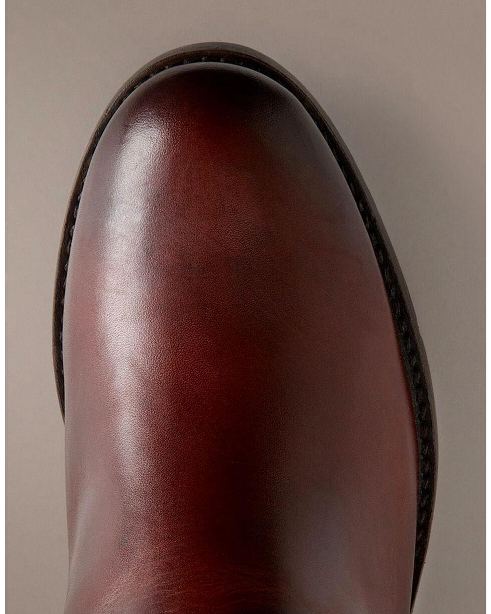 Frye Women's Melissa Harness Inside Zipper Riding Boots - Extended Calf, Redwood, hi-res