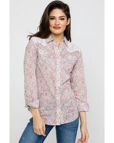 317bec30 Wrangler Women's Paisley Lace Western Shirt