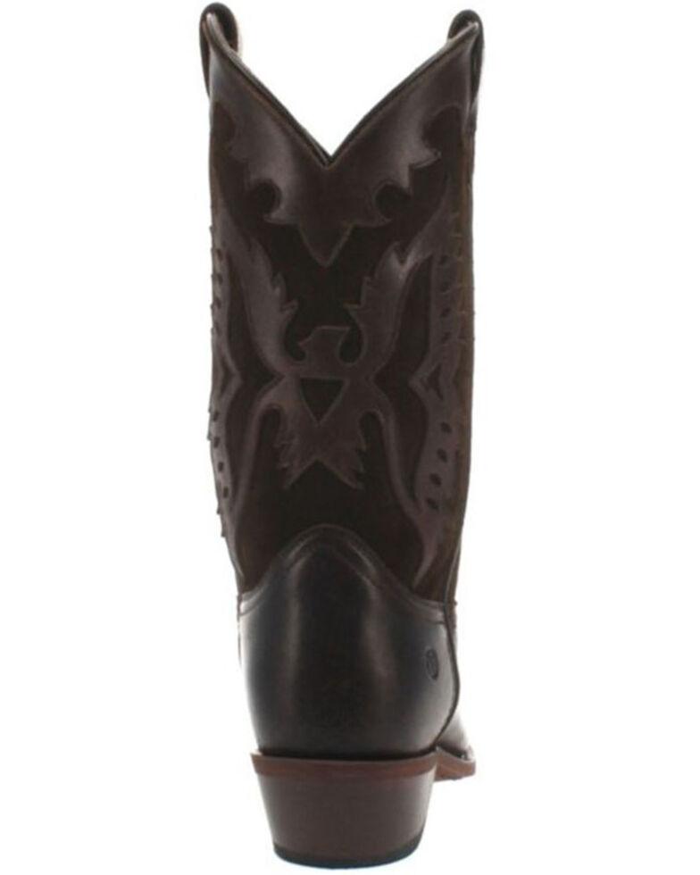 Dingo Men's Silverlake Western Boots - Round Toe, Distressed Brown, hi-res