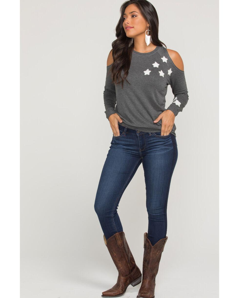 Idyllwind Women's Stargaze Fleece Top, Charcoal, hi-res