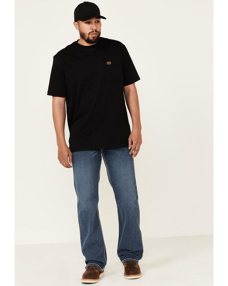 Rock & Roll Denim Men's FR Reflex Double Barrel Relaxed Straight Work Jeans , Blue, hi-res