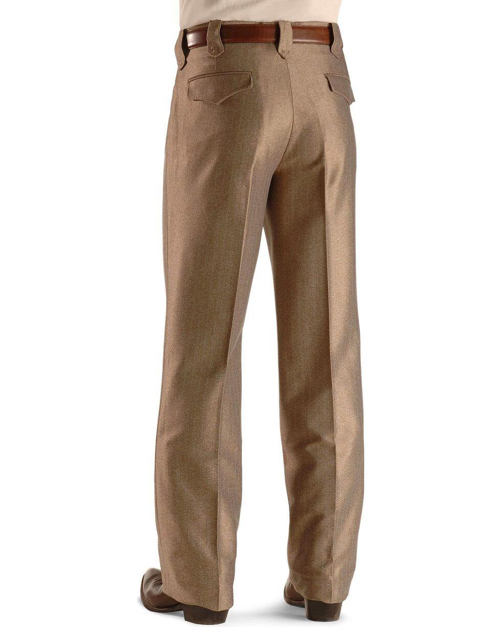 Circle S Men's Swedish Knit Dress Ranch Pants, Khaki, hi-res