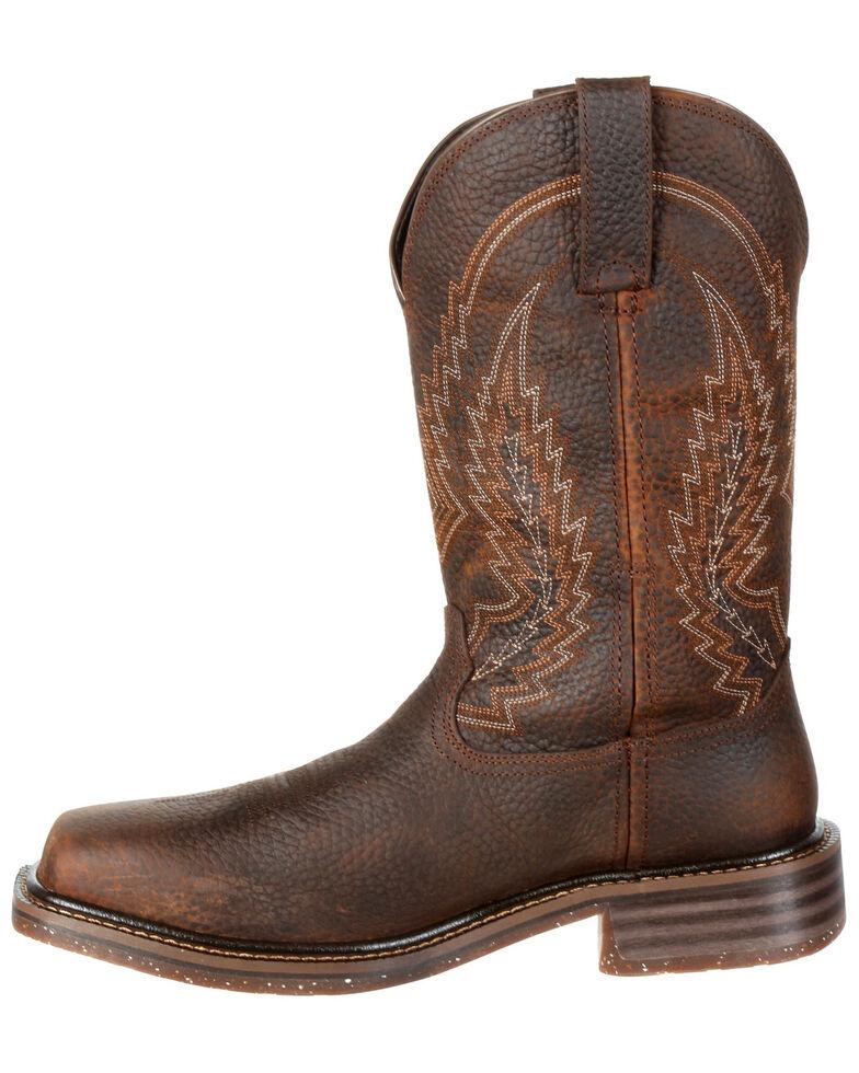 Rocky Men S Riverbend Waterproof Western Work Boots