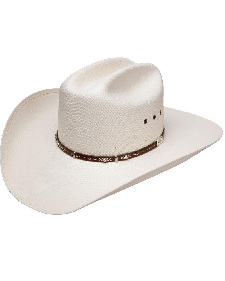 Resistol Men's George Strait Hazer Straw Hat, Natural, hi-res