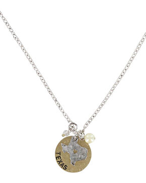 Shyanne® Women's Left My Heart In Texas Necklace, Silver, hi-res