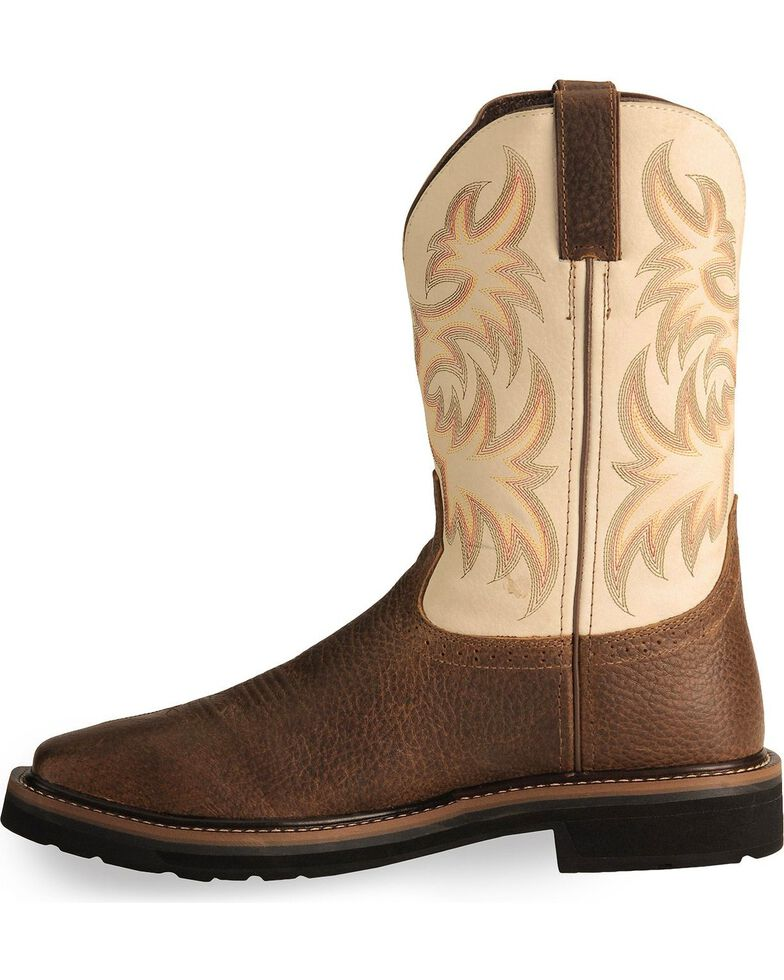 Justin Men S Stampede 11 Quot Steel Toe Western Work Boots