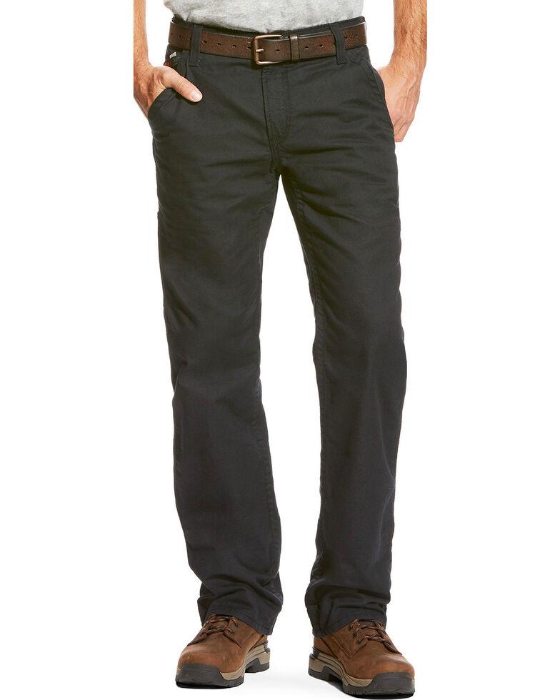 Ariat Men's FR M4 Black Workhorse Bootcut Pants , Black, hi-res