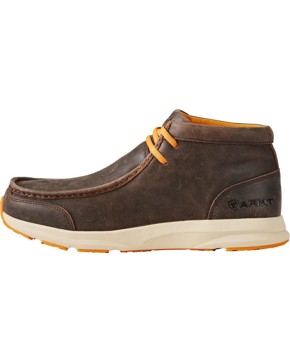 Ariat Men's Dark Brown Spitfire Shoes , Dark Brown, hi-res