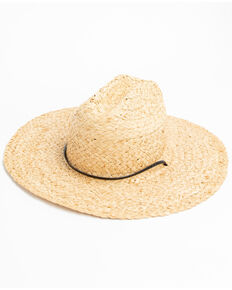 Hawx Men's Lifeguard Straw Sun Hat , Natural, hi-res