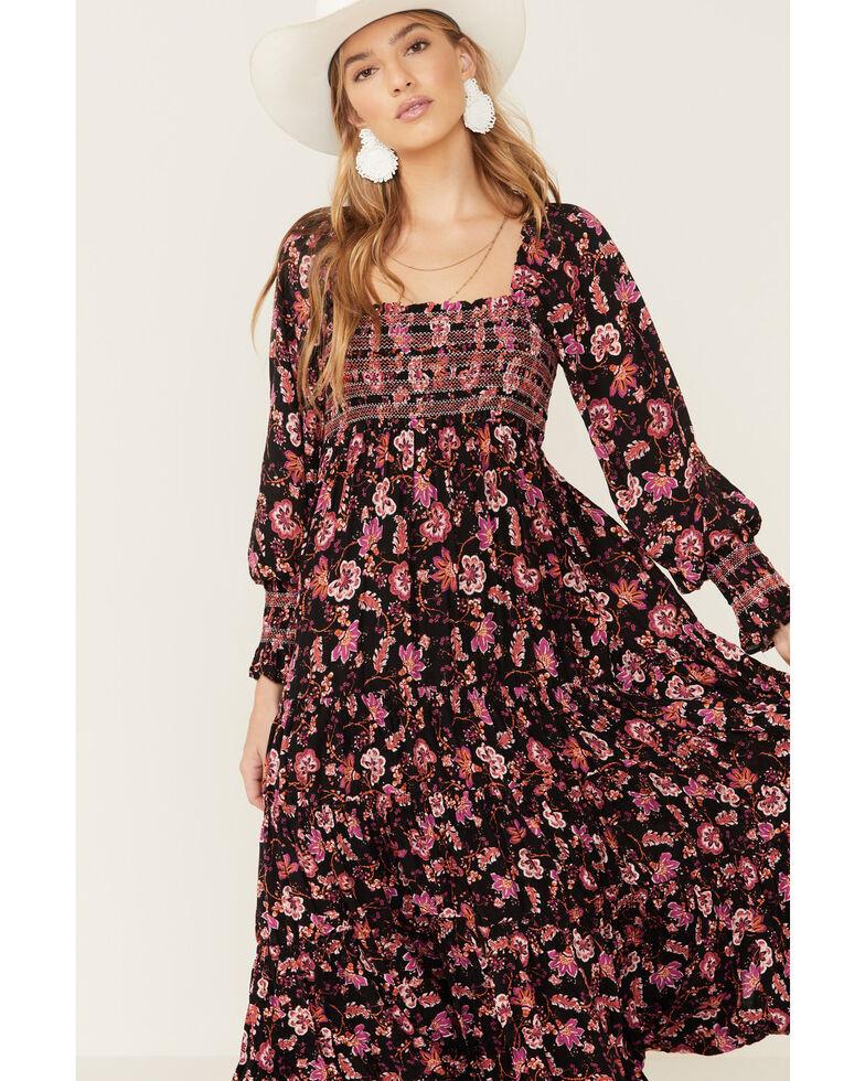 Free People Women's Sweet Escape Maxi Dress, Black, hi-res