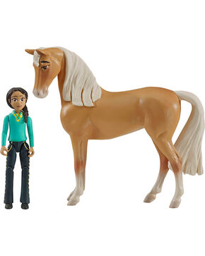 Breyer Linda and Pru Small Toy Set, No Color, hi-res