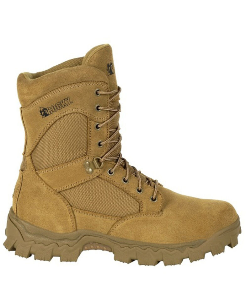 Rocky Men's Alpha Force Duty Boots - Soft Toe, Brown, hi-res