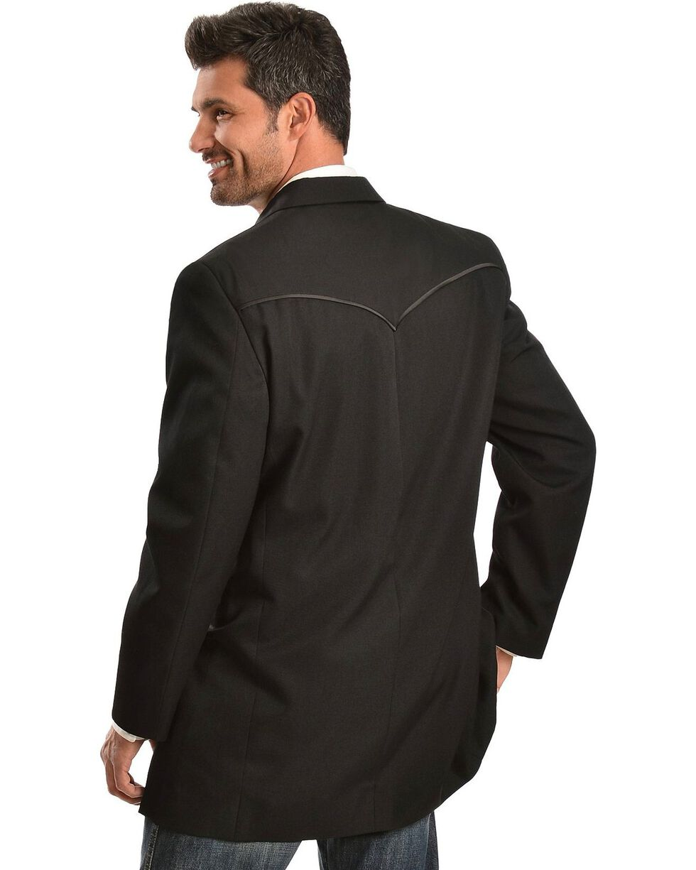 Circle S Tuxedo Sport Coat, Black, hi-res