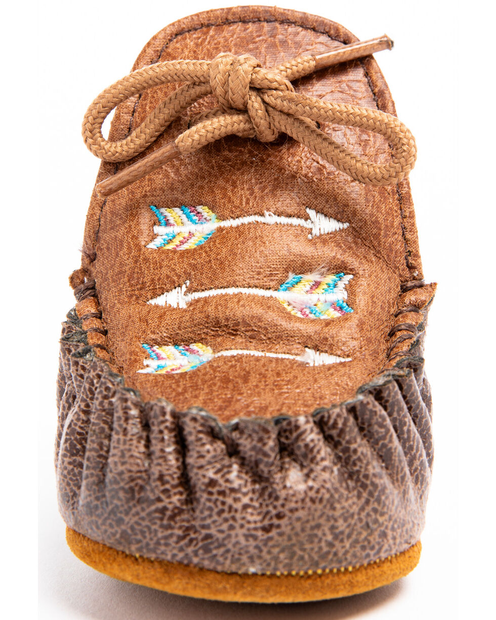Cody James Infant Boys' Arrow Moc Shoes - Moc Toe, Brown, hi-res
