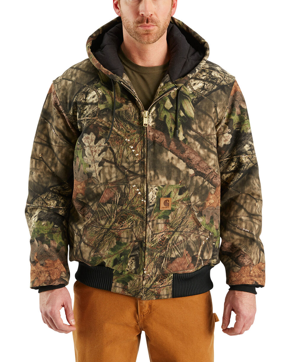 Carhartt Quilted-Flannel-Lined Active Jacket - Big & Tall, Multi, hi-res