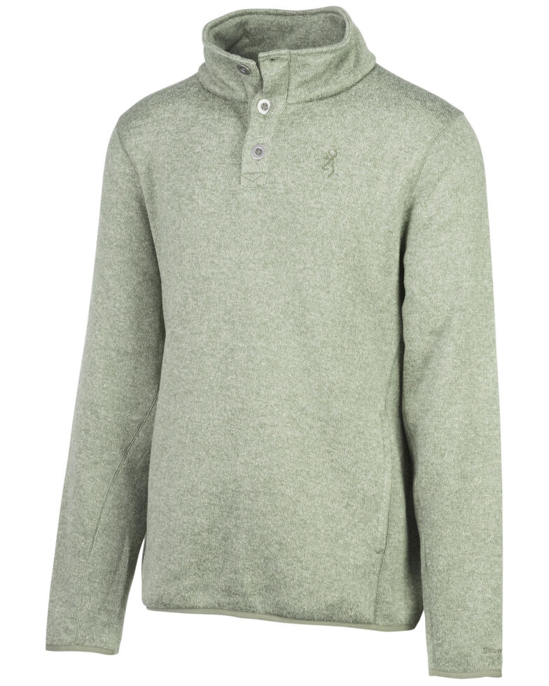 Browning Men's Gilson Pullover, Green, hi-res