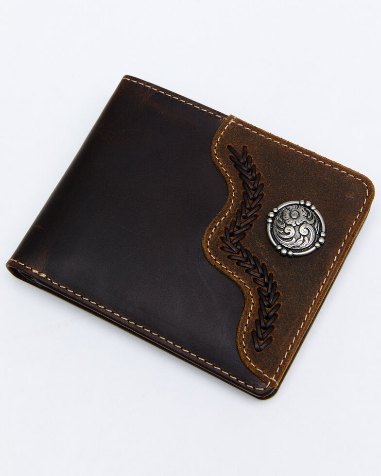 Cody James Men's Bifold Wallet, Brown, hi-res