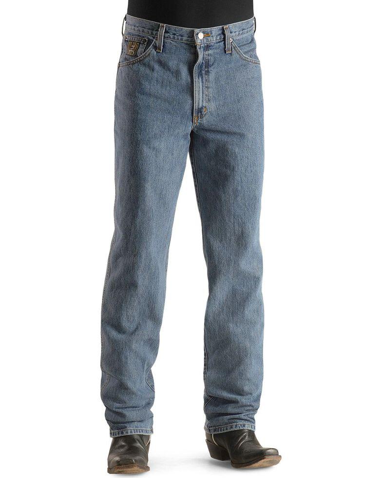 Cinch Men's Green Label Original Fit Stonewash Jeans, Midstone, hi-res