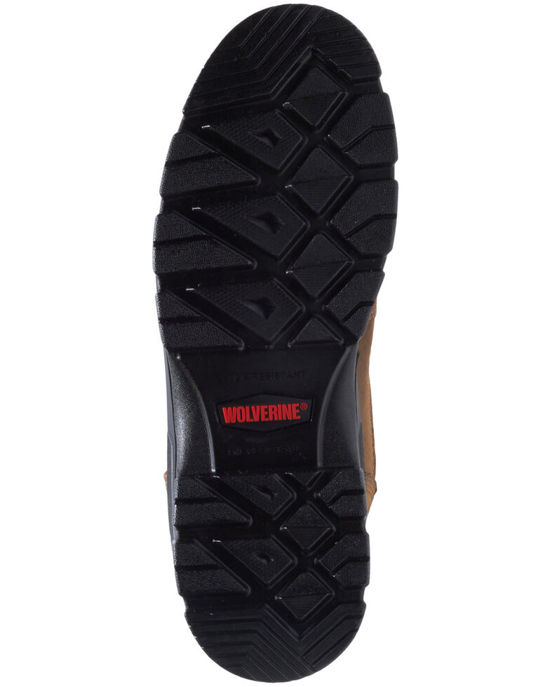 Wolverine Men's Chainhand Waterproof Work Boots - Soft Toe, Brown, hi-res