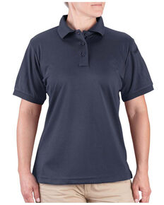 Propper Women's Solid Uniform Short Sleeve Work Polo Shirt , Navy, hi-res