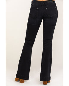 Rock & Roll Cowgirl Women's Black Low Rise Trouser, Black, hi-res