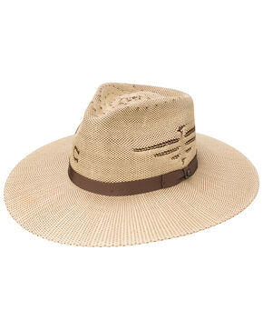 Resistol Women's Mexico Shore Eagle Western Hat, Tan, hi-res