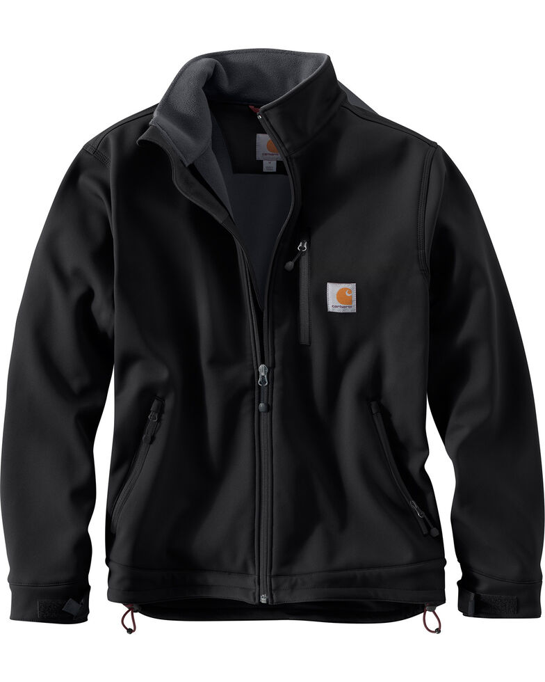 Carhartt Men's Crowley Work Jacket - Big & Tall, Black, hi-res