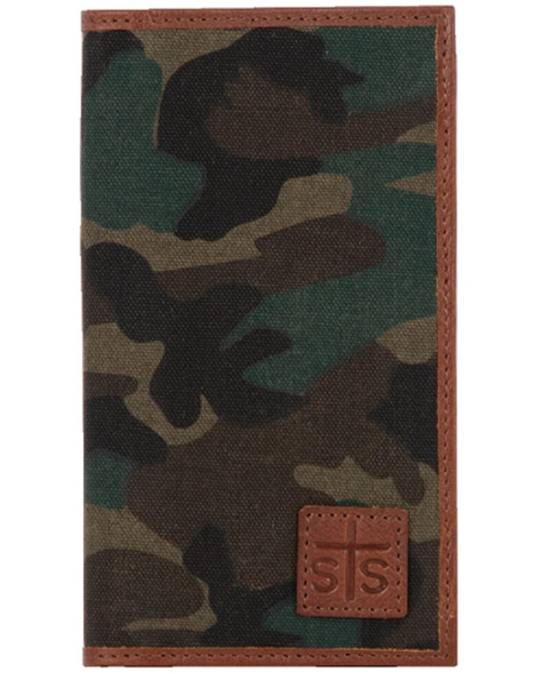 STS Ranchwear Women's Camo Long Bifold Wallet, Camouflage, hi-res
